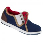 Yunginz Boys Button Up Canvas Shoes