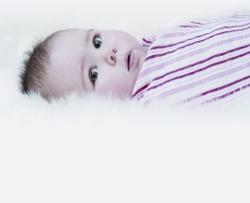 Olivia in stripes smaller
