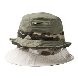 cotton camo hat