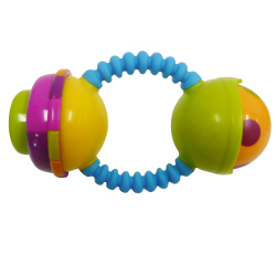 bendy beeper rattle