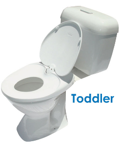 Lupi Lu Dual Toddler Toilet Seat
