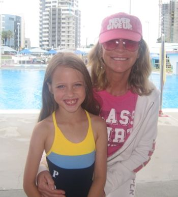 Bonnie and grand daughter Dominie on the GC