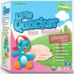 Little Quackers Rice Biscuits