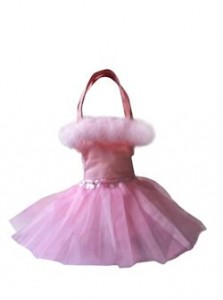 Feather Boa Tutu Bag