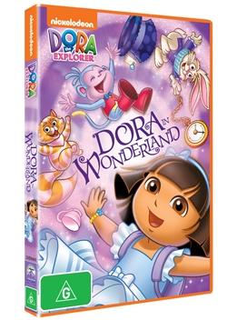 DVD9688 DORA IN WONDERLAND_300dpi_3D