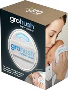 Gro-hush packaging