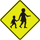 parent and child sign